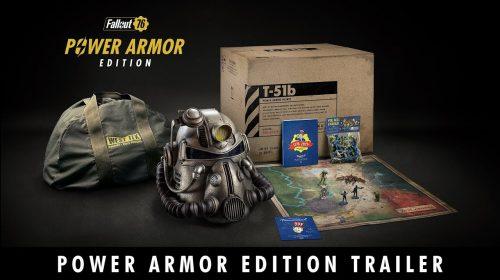 Fallout 76 chega em 14 de novembro; Veja edição de colecionador