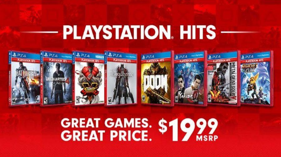 Sony anuncia PlayStation Hits: clássicos por melhores preços