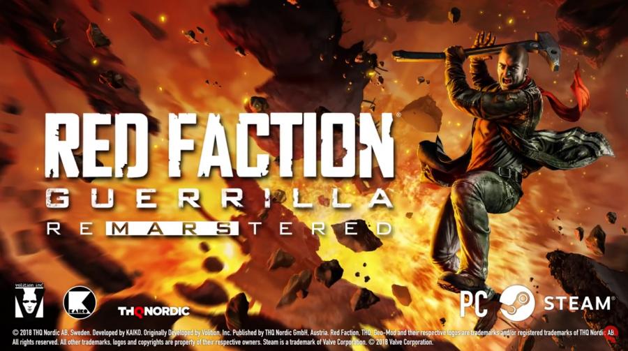 Red Faction Guerrilla Re-Mars-Tered chega em 3 de julho ao PS4; Veja Trailer