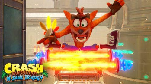 Crash Bandicoot N. Sane Trilogy: mais de 10 milhões de unidades vendidas