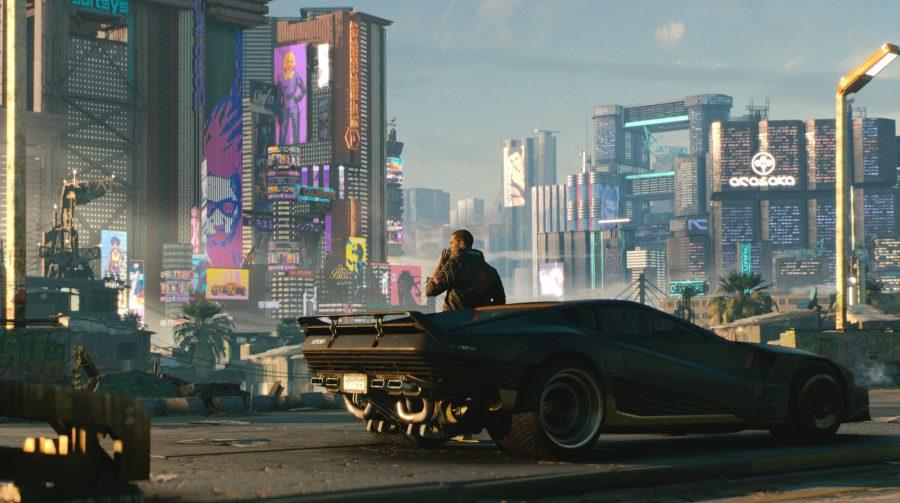 Você não vai poder dirigir um carro voador em Cyberpunk 2077