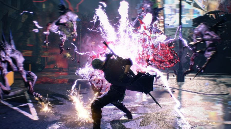 Assista a um gameplay de 16 minutos de Devil May Cry 5