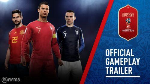 De graça! DLC da Copa de FIFA 18 recebe trial na PSN; baixe agora