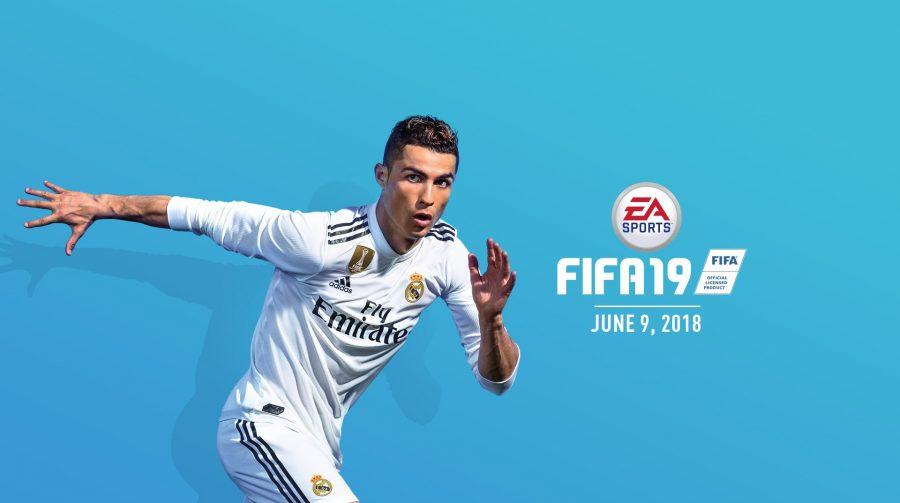 Com Cristiano Ronaldo na capa, FIFA 19 é anunciado pela EA