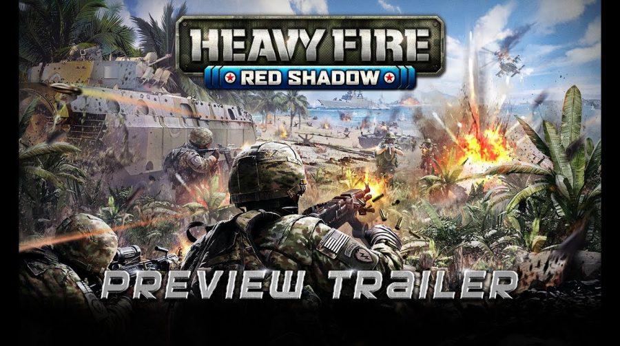 Heavy Fire: Red Shadow, shooter arcade, recebe trailer explosivo