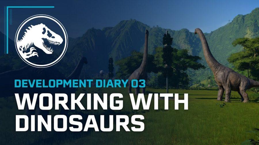 Novo vídeo de Jurassic World Evolution enfatiza a criação dos dinossauros