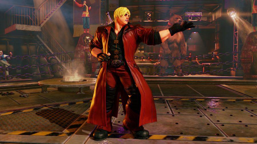 'Dante' vs. Ryu! Street Fighter V recebe trajes de Devil May Cry