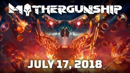 Mothergunship, shooter frenético, chega em julho ao PS4