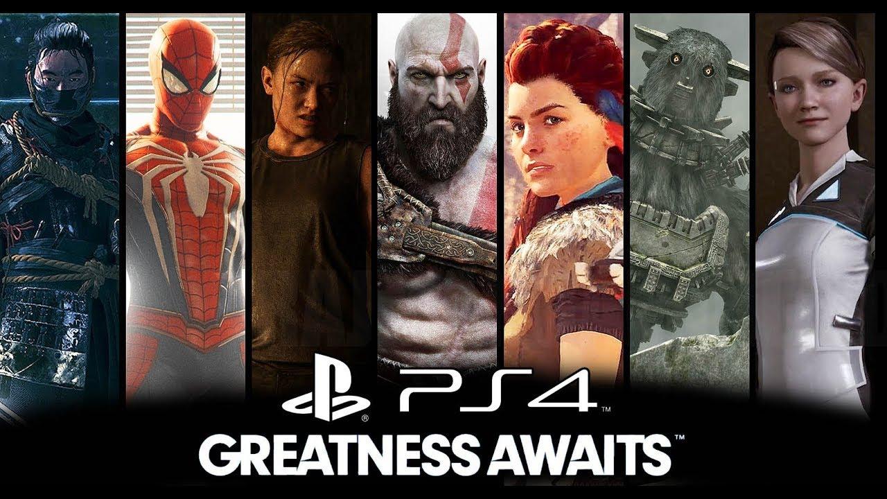 PS4 Exclusivos