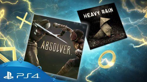 [Oficial] PlayStation Plus Julho conta Heavy Rain e Absolver; confira todos
