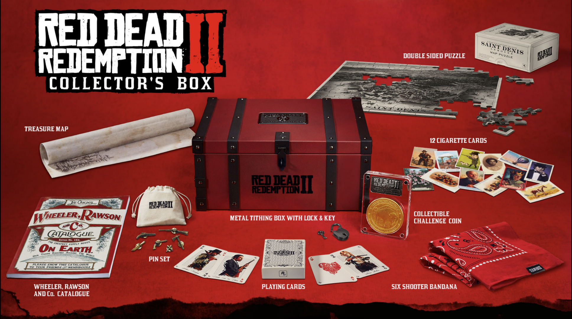 Red Dead Redemption Collectors