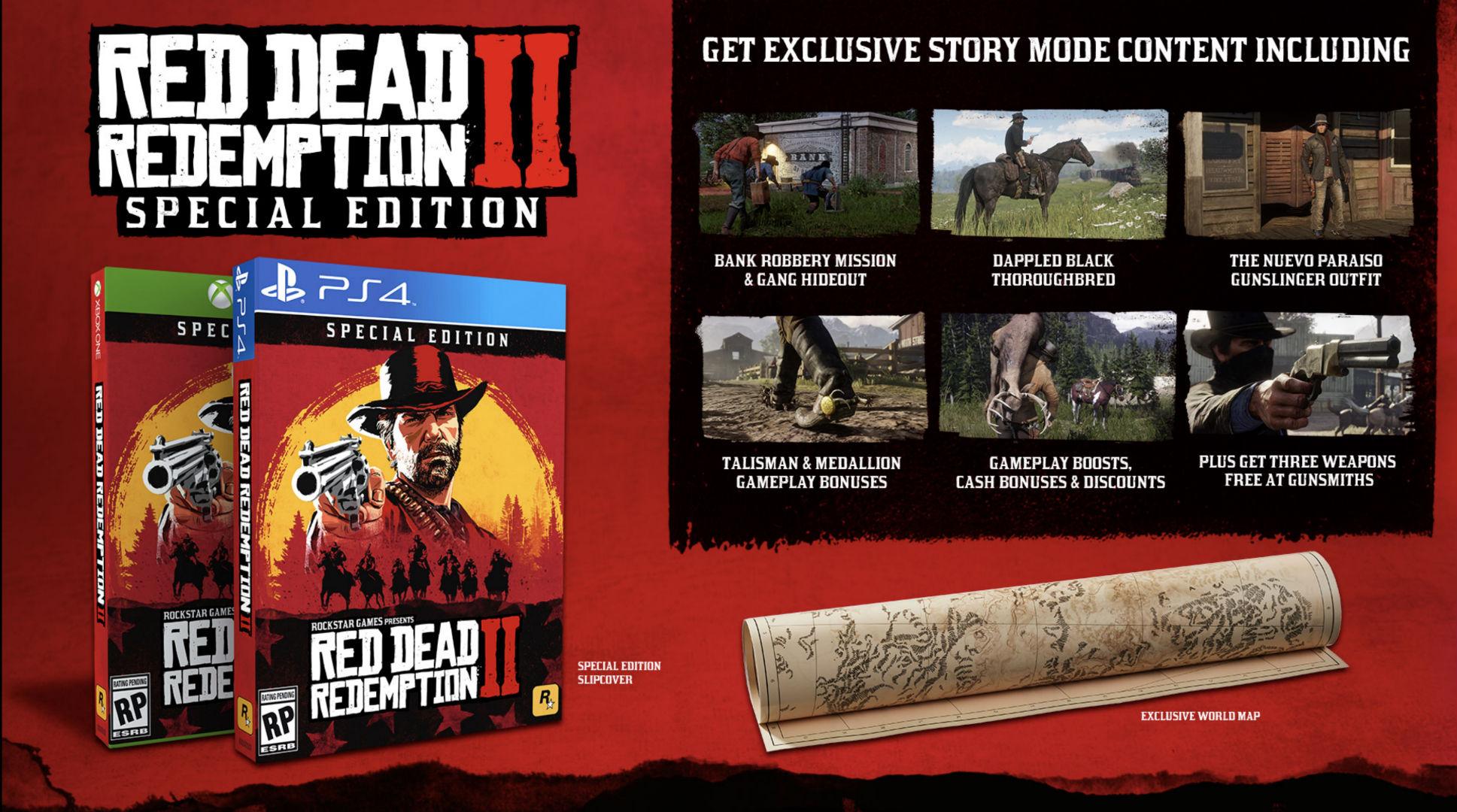 Red Dead Redemption 2 terá edições especiais recheadas de brindes 1