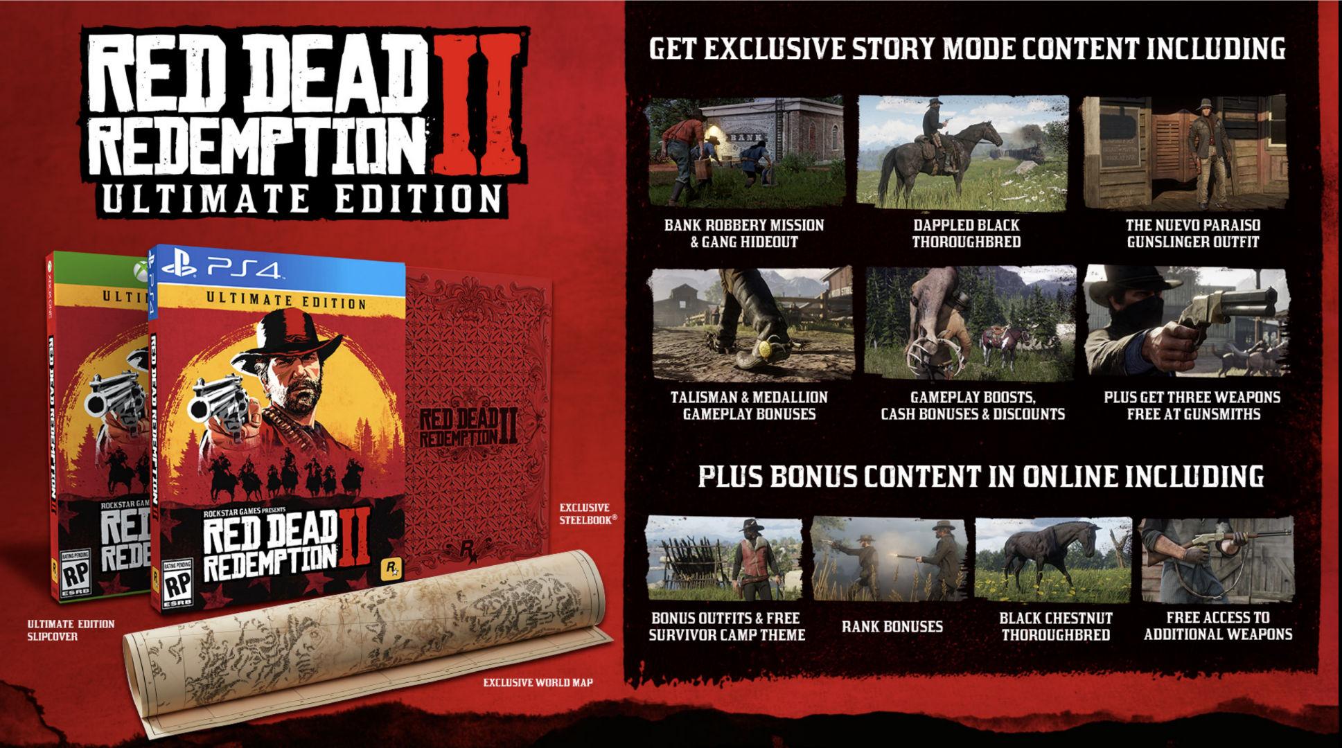 Red Dead Redemption 2 terá edições especiais recheadas de brindes 2
