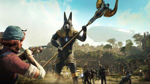 Novas imagens de Strange Brigade revelam o deus egípcio Anúbis