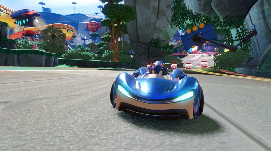 Team Sonic Racing recebe divertido gameplay e belas imagens