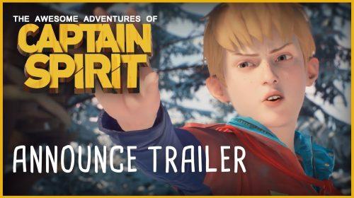 The Awesome Adventures of Captain Spirit é anunciado pela Dontnod