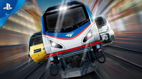 Train Sim World, simulador de trens, chegará em julho para PS4