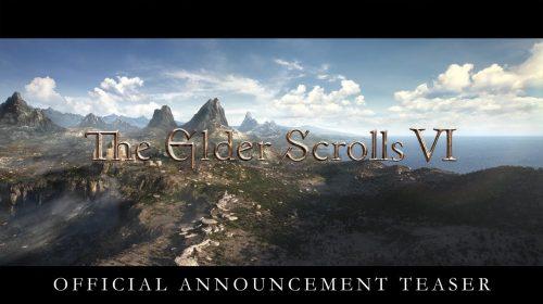 Pode comemorar! Bethesda anuncia The Elder Scrolls 6