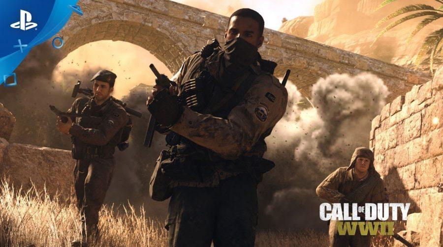 Novo DLC de CoD WWII chega primeiro ao PS4; veja as novidades