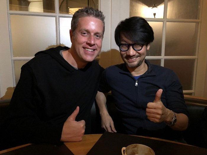 Emoji de Geoff para Kojima cria expectativas no Twitter