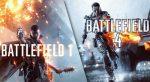 Battlefield 4 e Battlefield 1