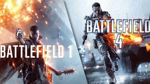 DICE distribui DLCs para Battlefield 1 e Battlefield 4