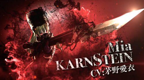 Mia Karnstein é destaque de novo trailer de Code Vein; assista