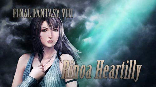 Rinoa de Final Fantasy VIII é anunciada para Dissidia Final Fantasy NT