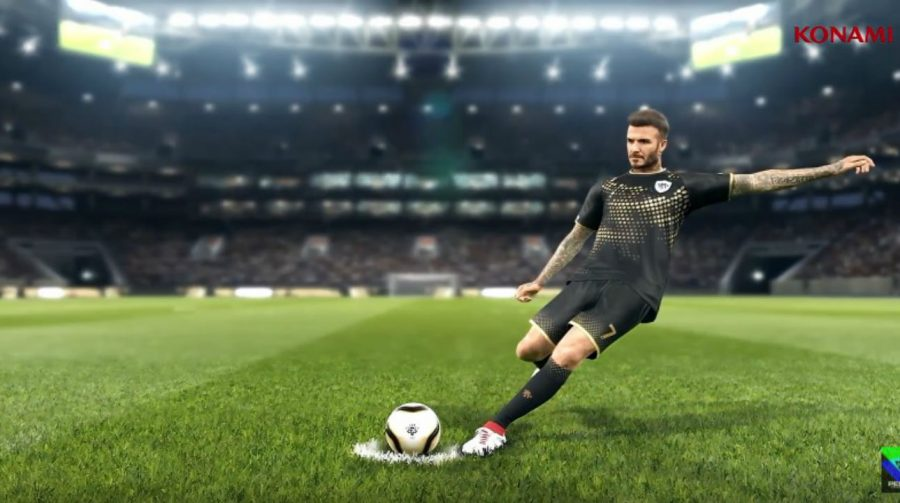 Movimentos de Beckham são destaque em novo vídeo do PES 2019
