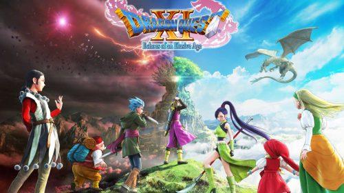 Gameplay de Dragon Quest XI apresenta batalha contra Tentacular