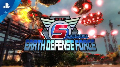 Novo trailer de Earth Defense Force 5 destaca terrível invasão alien; assista