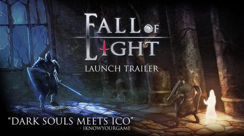 Quando Dark Souls encontra ICO: Fall of Light chega, em breve, ao PS4