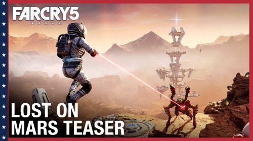 Perdidos em Marte, expansão de Far Cry 5, chega na próxima semana