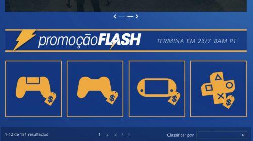 Sony revela Promoção Flash de julho na PlayStation Store; confira jogos e preços