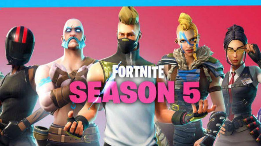 Servidores de Fortnite estão de volta com a Season 5 do Battle Royale