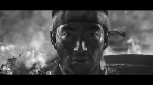 Ghost of Tsushima recebe linda apresentação em preto e branco; assista