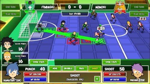RPG de futebol, Ganbare! Super Strikers chega ao PS4 nesse ano