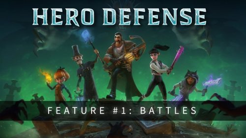 Hero Defense mescla RPG com Tower Defense e chega ao PS4 em agosto
