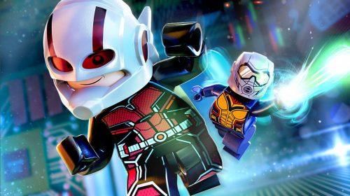 DLC Homem-Formiga e Vespa são adicionados em LEGO Marvel Super Heroes 2