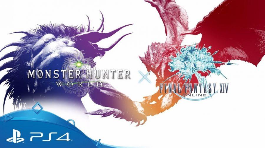 Behemoth de Final Fantasy é mostrado em Monster Hunter: World