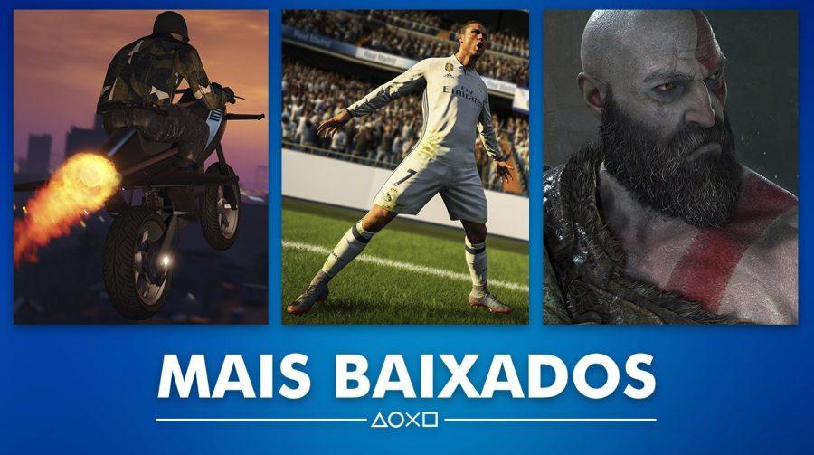 GTA V é o jogo mais baixado de junho na PlayStation Store; veja a lista