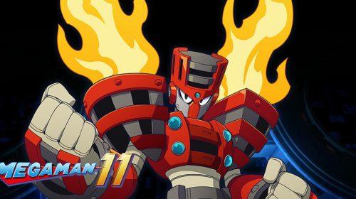 Gameplay de Mega Man 11 traz batalha contra chefe