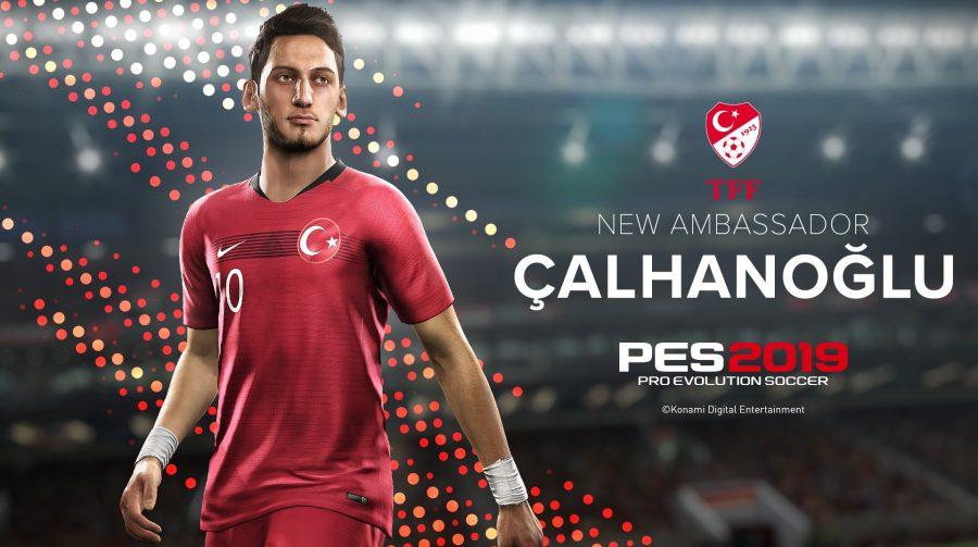 PES 2019: Liga Turca licenciada, novo estádio e outra capa especial