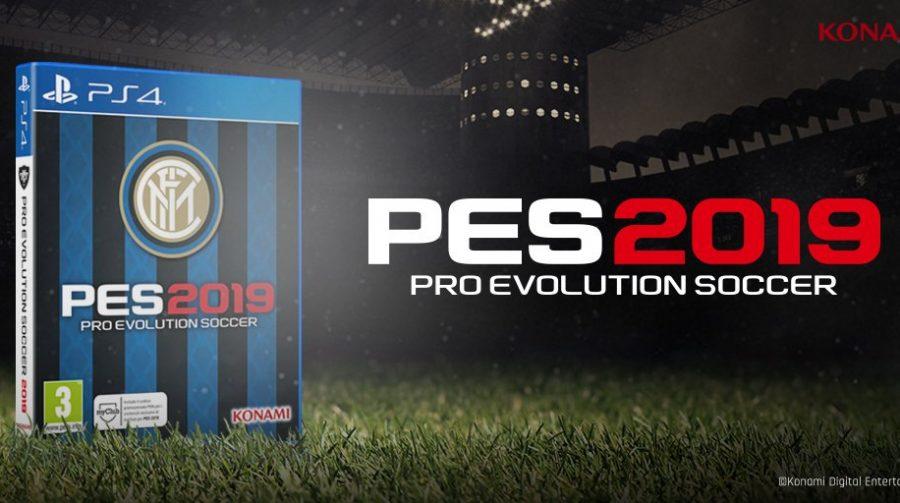 Inter de Milão terá edição especial do PES 2019