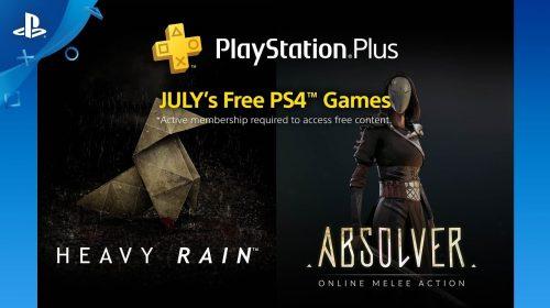 Membros PS Plus já podem baixar os jogos de julho na PSN; baixe aqui