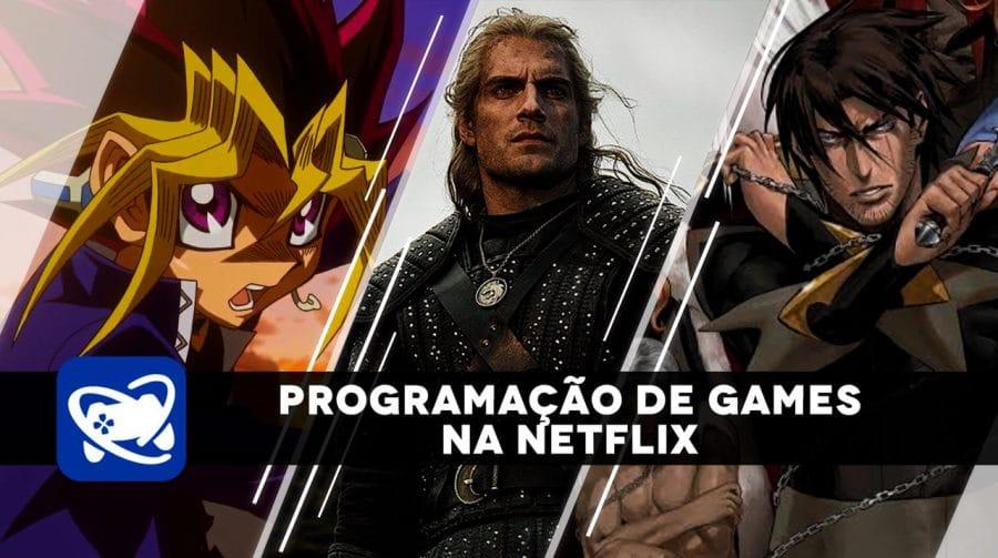 Prepare a Pipoca! Confira toda programação sobre games na Netflix