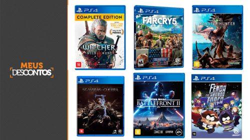 Descontos da Semana: veja os melhores preços em jogos de PS4