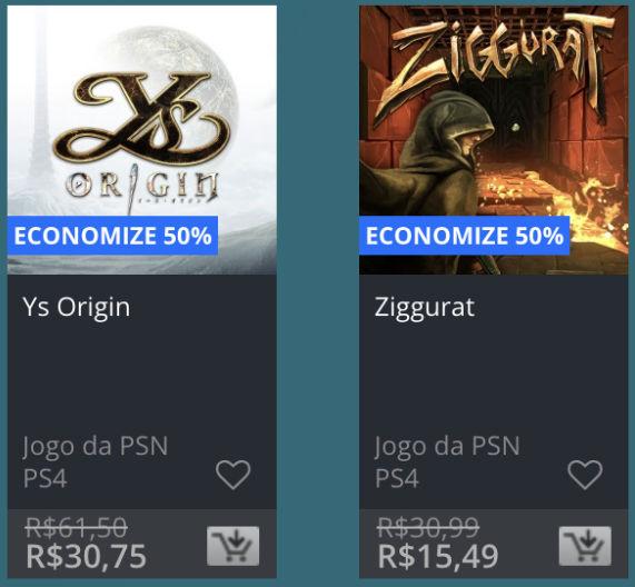 Promoção de Meio do Ano na PS Store com mais de 600 itens com preços que variam de R$ 10 a R$ 200 39