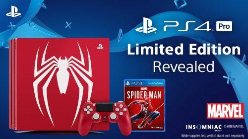 Bonito! Marvel anuncia bundle do PS4 inspirado em Spider-Man