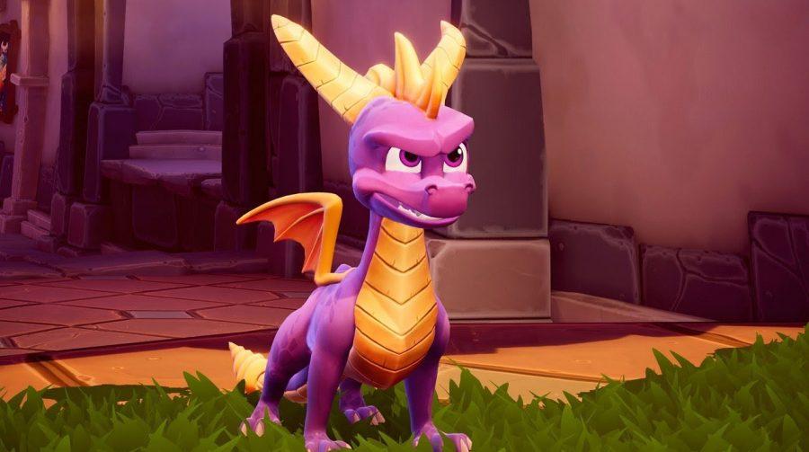Novo gameplay de Spyro Reignited Trilogy mostra Level Colossus